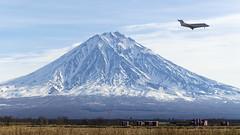 Koryaksky volcano, morrning (Zhuravlev Nikita) Tags: spotting elizovo kamchatka uhpp private