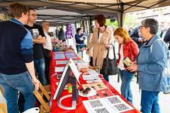 XIX Fira d'Entitats de Voluntariat Social a Girona (27.4.19)