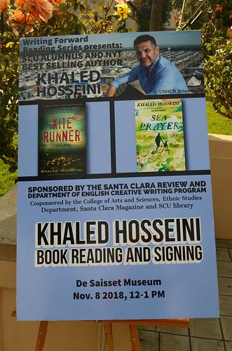Khaled Hosseini book fan photo