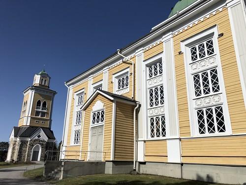 Eglise dé Kerimäki - la plus grande église en bois du monde - Finlande 2019