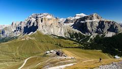 Campitello-022 (NiBe60) Tags: berg alpen italien trentino südtirol dolomiten fassatal campilello sella joch rifugio col rodella mountain alps italy south tyrol dolomites des alpes pordoi spitze sellagruppe torri del piz boe peak group