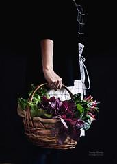 Verduras del huerto (Soniaif) Tags: verduras vegetables cesta basket foodphotography fotografíaculinaria claroscuro chiaroscuro