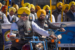 The Sikh Motorcycle Club (Photo Oleo) Tags: toronto sikh cityhall khalsaday nathanphilipssquare motorcyle cultural yellow sikhmotorcycleclub event
