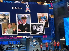 2019_T4T_NFL Draft 23 (TAPSOrg) Tags: taps tragedyassistanceprogramsforsurvivors teams4taps nfl draft nashville tennessee 2019 military indoor horizontal redshirt stage titans player group male women boys kids children candid
