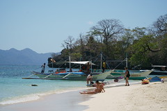 Seven Commandos Beach DSC05154 (ercallimages) Tags: philippines islands beach boat blue water sunshine paradise utopia waves sunset scenery holiday vacation bay elnido