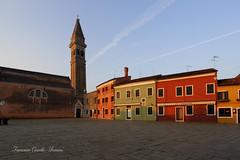 Burano all'alba - Burano at dawn (francescociccotti1) Tags: