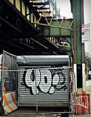 Yo! (Robert S. Photography) Tags: yo art street grafitti construction brooklyn nyc mddonaldave sony dsch55 color iso80 march 2019