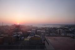 The last sunrise in Heisei era. (fukapon) Tags: tweet 日の出 sunrise 市立稚内病院 sony cybershot dscrx0 rx0 稚内 wakkanai 北海道 hokkaido