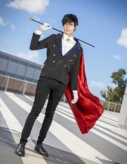 _MG_2537 (Mauro Petrolati) Tags: gianluca effy milord sailor moon romics 2019 cosplay cosplayer mamoru chiba tuxedo kamen