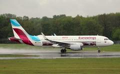 Eurowings, D-AEWS, MSN 7439, Airbus A 320-214 SL, 28.04.2019, HAM-EDDH, Hamburg (AVIS livery) (henryk.konrad) Tags: eurowings daews msn7439 a320214sl avislivery hamburg airbus henrykkonrad hameddh