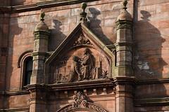 healing hands (119/365) (werewegian) Tags: sovereign house glasgow mission deaf dumb christ sculpture 1893 robertduncan werewegian apr19 sandstone 365the2019edition 3652019 day119365 29apr19 architecture