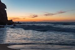 Coastal Dawn Seascape with Ship on the Horizon (Merrillie) Tags: horizon redheadbeach sunrise newcastle dawn newsouthwales sea nsw beach ocean lakemacquarie ship coastal redhead outdoors seascape landscape coast australia seaside
