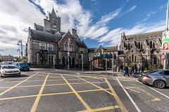 CHRIST CHURCH CATHEDRAL IN DUBLIN [PHOTOGRAPHED USING A SIGMA 14mm LENS]-152088 (infomatique) Tags: christchurch cathedral gardenofpeaceandprayer cathedraloftheholytrinity stpatricks dublinandglendalough publicart sculpture monumentmemorial religion streetsofdublin churchofireland april 2019 williammurphy sony a7riii sigma 14mm wideanglelens infomatique fotonique