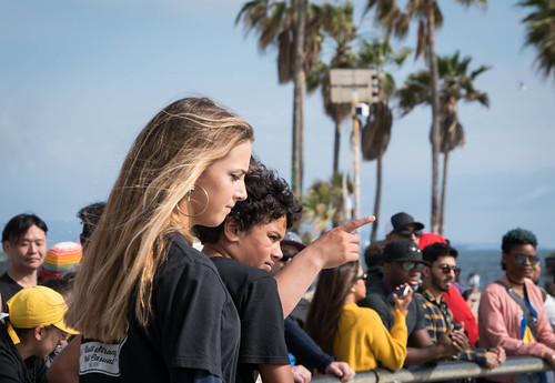 Skater Girl - Venice Beach, CA
