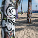 Graffiti on Palm Trees - Venice Beach, CA