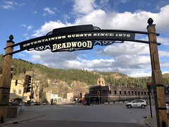 Hello from Deadwood , South Dakota (Hazboy) Tags: 2019 april deadwood dakota south hazboy1 hazboy