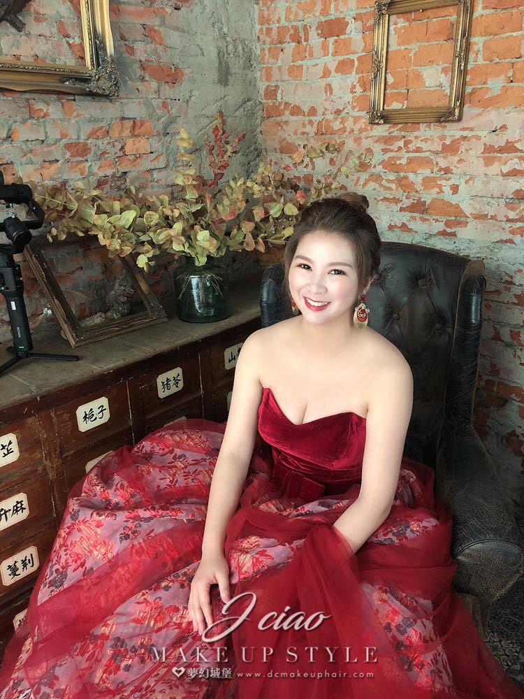【新秘婕喬】bride舒婷 新娘婚紗造型