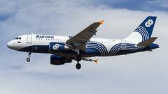 Aurora Airlines Airbus A319 VP-BUK (Zhuravlev Nikita) Tags: spotting elizovo kamchatka uhpp airbus a319 aurora 319