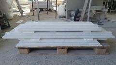 soglie in marmo bianco