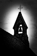 Bell (@WineAlchemy1) Tags: bell tower church stbegas bassenthwaite lakedistrict england cumbria silhouette filmnoir grainy blackandwhite monochrome nerosubianco noiretblanc blancoynegro