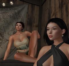 pensives (ange.sha) Tags: femmes amitié tendresse complicité asiatique