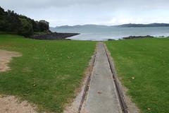 Tracks to Hobsons Beach (koukat) Tags: nz new zealand northland bay islands waitangi russell ferry waitaingi treaty grounds museum busby residency house historic history historical maori
