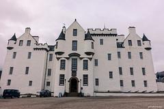 Blair Castle (gabi-h) Tags: blaircastle architecture castle scotland windows windowswednesday sky touristattraction gabih unitedkingdom