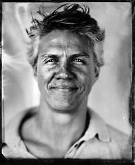 James B (fitzhughfella) Tags: tintype tinplate wetplate collodion silvernitrate ether largeformat 4x5 graflexspeedgraphic kodakaeroektar darkroom vintage