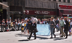 NYC Tartan Day Parade (neilsonabeel) Tags: nikonn90s nikon nikkor film analogue tartanday parade newyorkcity manhattan andrewcarnegie scotland scottish tartandayparade