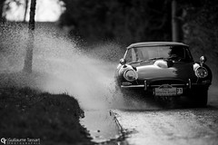 ING Ardenne Roads 2019 (Guillaume Tassart) Tags: ing ardenne roads 2019 belgique belgium spa bastogne libramont classic rally rallye historic racing race motorsport automotive legend jaguar type etype rain blackandwhite black white