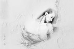 water's women (21) (ibethmuttis) Tags: ibeth panasonic dmclx100 water woman artistic work bw portrait emotion monochrome dream