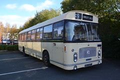 Midland General 148 NNU447J (Will Swain) Tags: gladstone pottery museum during pmt running day 21st october 2018 bus buses transport travel uk britain vehicle vehicles county country england english preserved heritage midland general 148 nnu447j