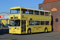 Wallasey Corporation Motors 1788 OEM788S (Will Swain) Tags: gladstone pottery museum during pmt running day 21st october 2018 bus buses transport travel uk britain vehicle vehicles county country england english preserved heritage wallasey corporation motors 1788 oem788s