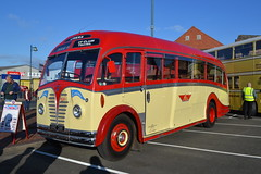 Lymers URE281 (Will Swain) Tags: gladstone pottery museum during pmt running day 21st october 2018 bus buses transport travel uk britain vehicle vehicles county country england english preserved heritage lymers ure281