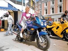 TT1993 Douglas Promenade 5.6.1993 (6) (bebopalieuday) Tags: isleofman isleofmantt douglas promenade triumph 900 sprint motorbike motorcycle 1993
