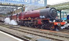 6201 on the Dalesman (Matt Ditch Photography) Tags: lms princess royal class no6201 princesselizabeth dalesman railtour carlisle west coast mainline steam locomotive train london midland scottish railway