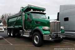 2019 Peterbilt 567 Tri-Axle Dump Truck (Trucks, Buses, & Trains by granitefan713) Tags: peterbilt peterbilttruck newtruck new bigtruck heavyduty dumptruck triaxledumptruck triaxle triad peterbilt567 567