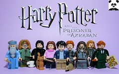 Harry Potter and the Prisoner of Azkaban (HaphazardPanda) Tags: lego figs fig figures figure minifigs minifig minifigures minifigure purist purists character characters films film movie movies tv harry potter wizarding world prisoner azkaban dementor albus percival wulfric brian dumbledore professor trelawney snape hermione granger ron weasley sirius black peter pettigrew remus lupin crookshanks scabbers