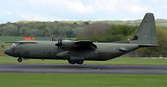 ZH879 (PrestwickAirportPhotography) Tags: egpk prestwick airport raf royal air force lockheed c130j hercules zh879