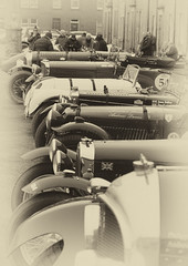 Line up (oldgoat50) Tags: flyingscotsmanvintagerally newcastleton