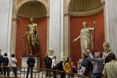 Esculturas en la Sala Redonda