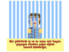 dijitalköle-digitalprisoner-digitalslave (ciddibirikiuc) Tags: slave digitalslave wifichain modernage moderntimes m43turkiye vectorillustration