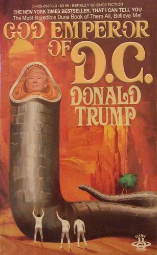 God-Emperor of DC — Trump