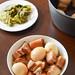 Vietnamese thit kho, braised pork belly and boiled eggs