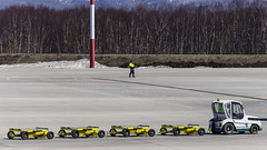 Marshaller (Zhuravlev Nikita) Tags: airport marshaller elizovo kamchatka spotting uhpp pkc