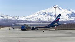 Aeroflot - Boeing 777-3M0(ER) VP-BGC (Zhuravlev Nikita) Tags: boeing 777 boeing777 aeroflot elizovo kamchatka spotting uhpp pkc