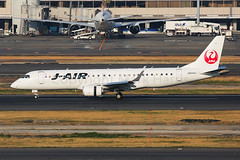 J Air Embraer ERJ-190STD JA244J (Mark Harris photography) Tags: spotting plane aviation canon 5d japan haneda