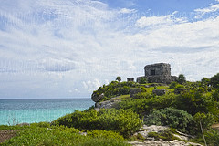 edge of world (Mau Silerio) Tags: tulum messico mexic mexique landscape ruins mayan architecture building sky ancient sony alp travel piramids
