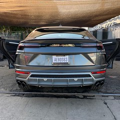 back of lamborghini urus rear end (Exotic & Luxury Cars) Tags: lamborghini 777exotics urus lambo exotic rental car los angeles california