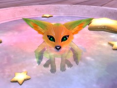 ARTY FOX (ollivern) Tags: secondlife animal babie